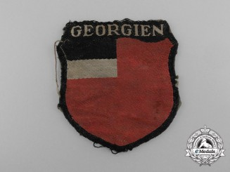 A Rare Georgian SS Foreign Volunteer Service Insignia; Tunic Removed