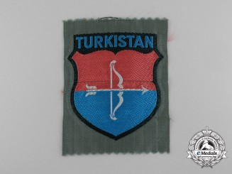 A Mint Turkistan SS Foreign Volunteer Service Sleeve Insignia
