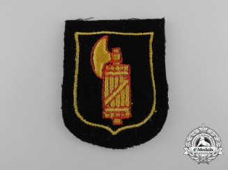 Germany, SS. An Italian SS Foreign Volunteer Service Sleeve Insignia