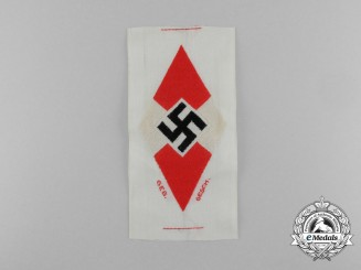 A Mint and Unissued HJ Diamond Insignia Shirt Insignia; HJ RZM Tagged