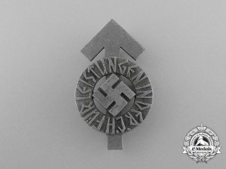 An HJ Achievement Badge; 3rd Class by Karl Wurster