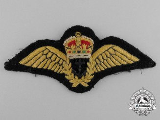 A Second War Fleet Air Arm (FAA) Chief Petty Officer Pilot Badge