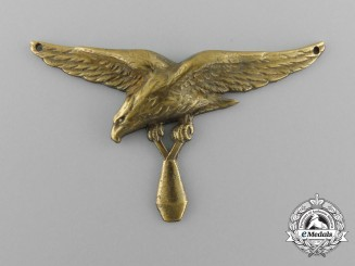 France. A Navy Bomber Badge, Sew-On Version, c.1939