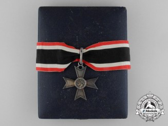 A Knight's Cross of the War Merit Cross by Deschler with Case