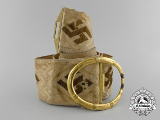 An Unattributed Private Purchase German Belt with Buckle