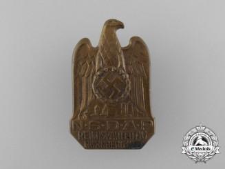 A 1933 NSDAP Reichsparteitag Nürnberg Badge