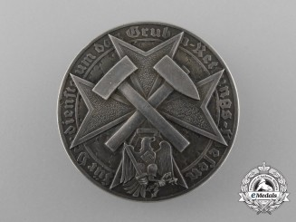 Germany. A Scarce German Mine Rescue Decoration in Silver