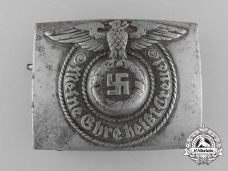 Germany. A Waffen SS EM/NCO's Steel Belt Buckle, by Robert C. Dold