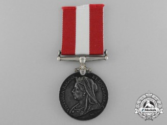 A Canada General Service Medal to the 1st Prescott Rifle Company