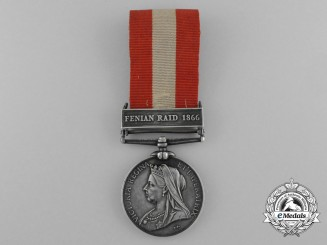 An 1866-70 Canada General Service Medal to the Brantford Rifle Company