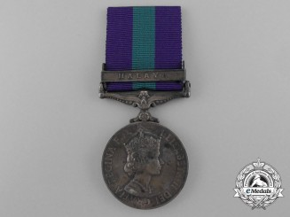 An 1918-62 General Service Medal to the Loyals