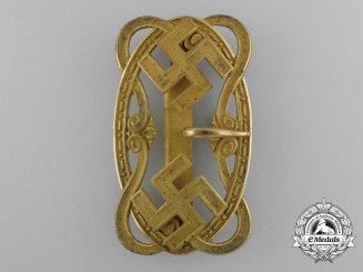 An Elaborate Second War Period German Patriotic Buckle