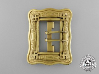 A High Quality Second War Period NSDAP Supporters Buckle