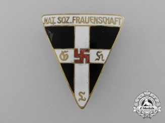 A National Socialist Women's League Staff Badge; Marked