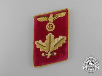 A Rare Single NSDAP Dienstleiter Collar Tab