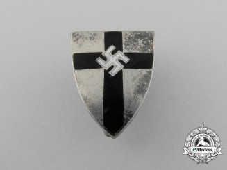 A Scarce German Eastern Marches Society Membership Badge