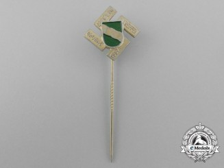 A 1937 Gronau Border-Counties Meeting Stick Pin