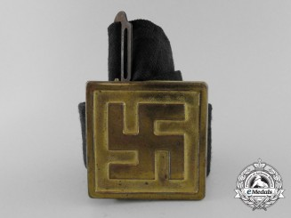 A Second War Period German Patriotic Belt with Buckle