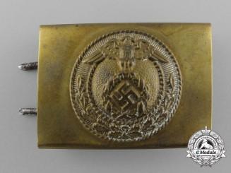 An NSDAP Buckle Belt Buckle