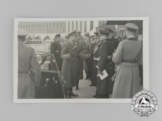 An Unpublished Picture Postcard of Rudolf Hess addressing Several High Ranking Officials