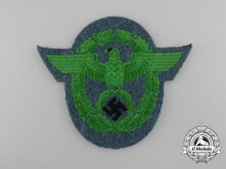 A German Municipal Police Sleeve Eagle