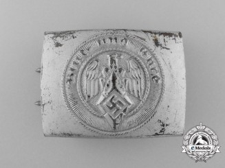An HJ Member's Belt Buckle by Christian Theodor Dicke