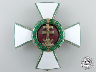 A Hungarian Order of Merit; Officer's Cross