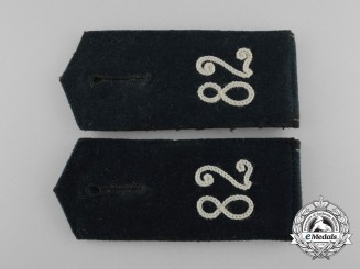 An Early Pair of Wehrmacht Infantry Shoulder Boards