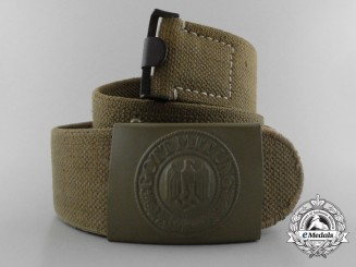 A Wehrmacht Deutsches Afrikakorps Belt and Buckle