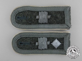 A Pair of Division Feldherrnhalle Feldwebel's Shoulder Straps