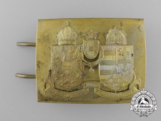 A First War Austro-Hungarian EM Belt Buckle