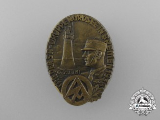 "A Fine Quality 1936 ""Day of the SA - Group North Sea in Bremen"" Celebration Badge"