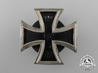 An Iron Cross First Class 1914; Screwback