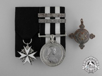 An Order of St. John Group to Sergeant Gwendolyn D. Burn