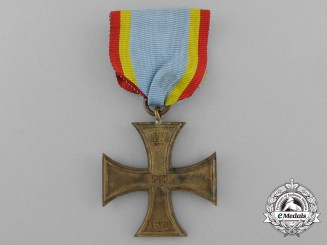 An 1870 Mecklenburg War Merit Cross