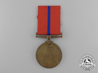 A Coronation (Police) Medal 1902 to W.E. Ferris; St. John Ambulance Brigade