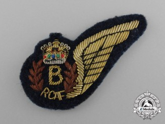 A Reduced QEII Royal Canadian Air Force (RCAF) Bombardier (B) Wing