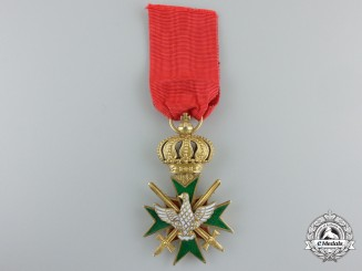 A Saxe-Weimar Order of White Falcon; Knight First Class with Swords