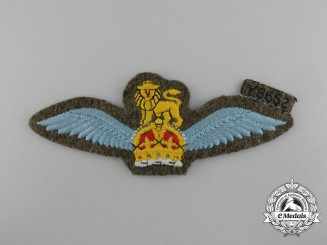 A Mint Second War RAF Glider Regiment Pilots Wings Badge