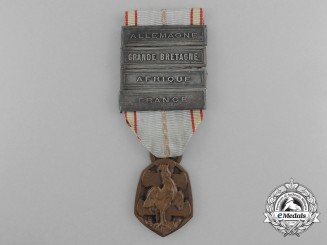 A French Second War Commemorative Medal 1939-1945