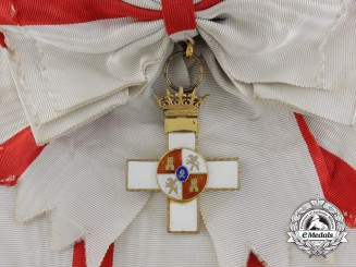A Spanish Order of Military Merit; Early Franco Era Grand Cross