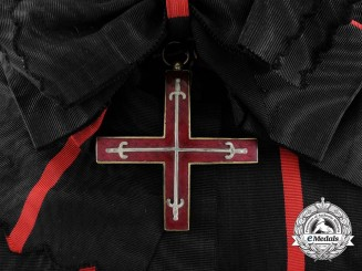 A Spanish Royal Military Estamento of the Principality of Gerona; Grand Cross