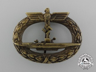A Submarine Badge by Schwerin
