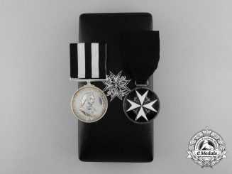An Order of St. John Award Pairing in Case