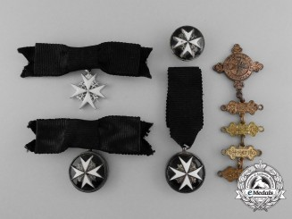 Five Order of St.John Badges and Awards
