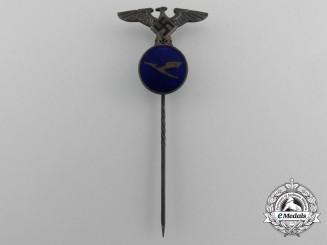 A Third Reich Period Lufthansa Airline Faithful Service Stickpin