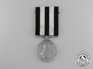 A Service Medal of the Order of St. John to Provincial Staff Officer James A. Hanna