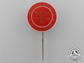 A 1935 Magdeburg District NSDAP 10-Year Membership Stickpin