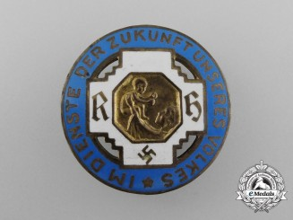 An Honour Badge of the German State Midwife Association