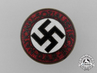 An NSDAP Party Badge by Alois Rettenmaier